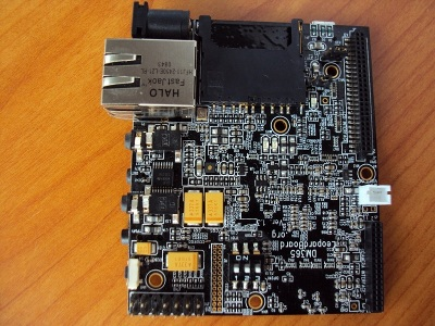 Figure 1. DM365 Leopard board