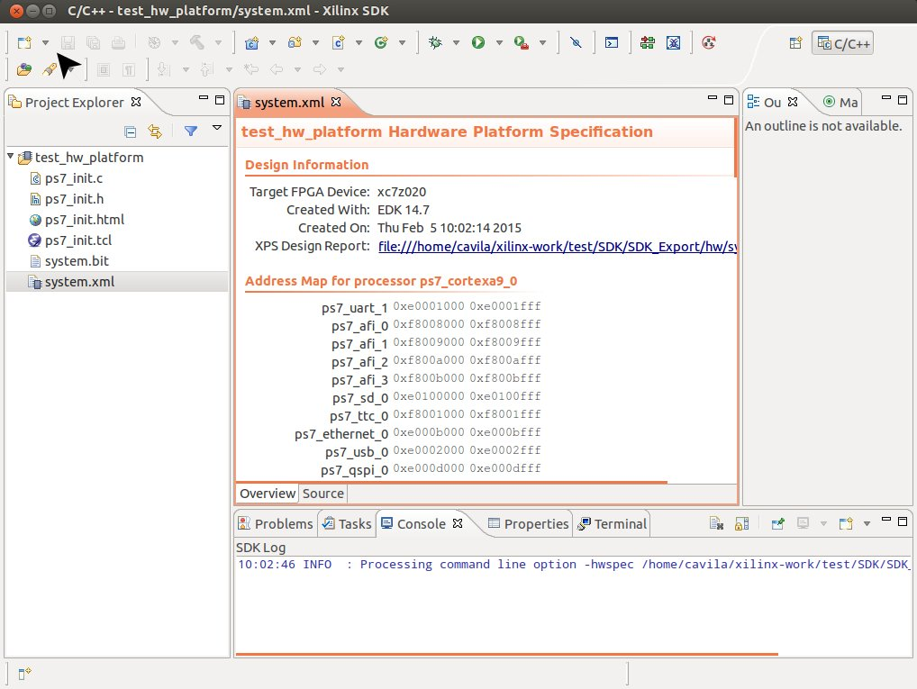 File:Xsdk-create-fsbl jpg - RidgeRun Developer Connection