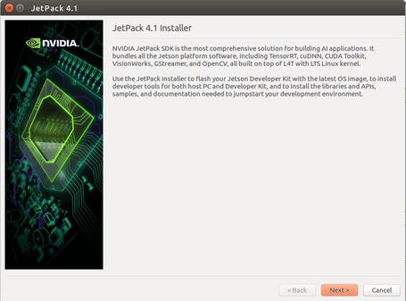 NVIDIA Xavier - Installing Jetpack