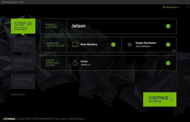 Installing JetPack 4 2 - Nvidia SDK Manager - RidgeRun