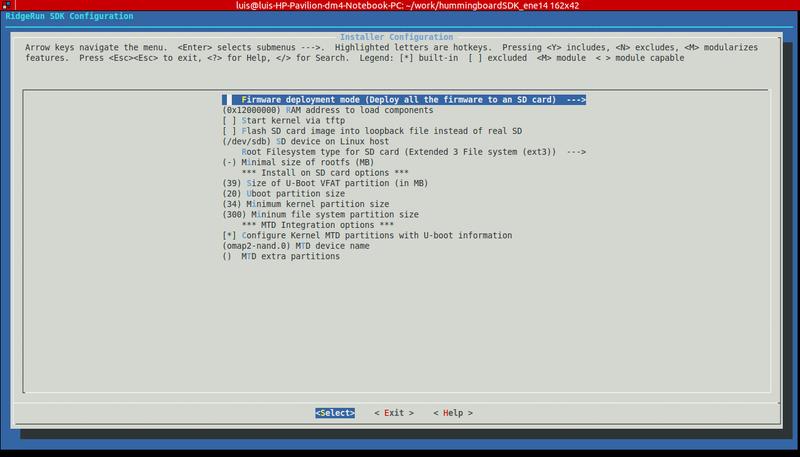 Use RidgeRun SDK on HummingBoard EVM Guide   RidgeRun